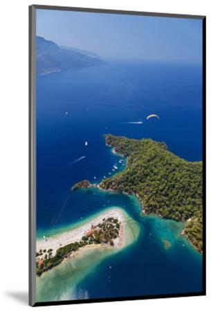 View of the Lagoon of Oludeniz near Fethiye, Mugla Province, Lycia, Turkey--Mounted Art Print
