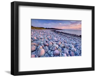 Beach at Green Point in Gros Morne National Park on the West Coast, Newfoundland, Canada--Framed Art Print