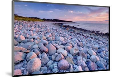 Beach at Green Point in Gros Morne National Park on the West Coast, Newfoundland, Canada--Mounted Art Print