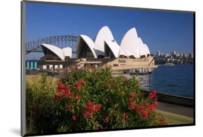 Opera House, Sydney, New South Wales, Australia--Mounted Art Print