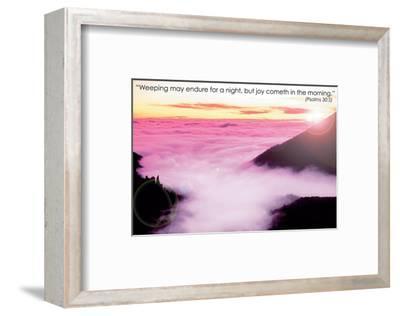 Weeping--Framed Art Print
