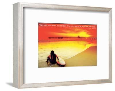 Wondrous--Framed Art Print