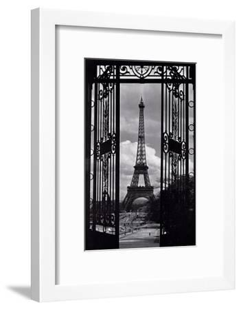 Paris View--Framed Art Print