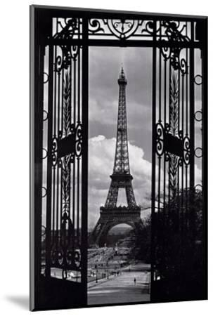 Paris View--Mounted Art Print