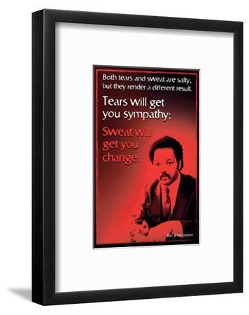 Famous Americans - Black History 5--Framed Art Print