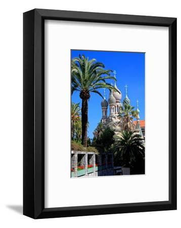Russian Orthodox Church in San Remo, Province of Imperia, Liguria, Italy--Framed Art Print