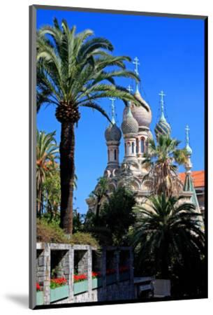 Russian Orthodox Church in San Remo, Province of Imperia, Liguria, Italy--Mounted Art Print
