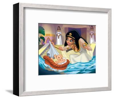 Moses--Framed Art Print