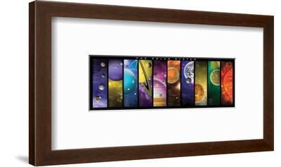 Solar System--Framed Art Print