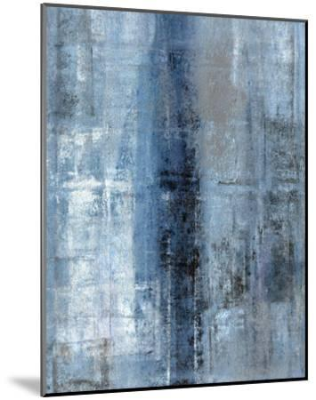 Cerulean Texture I-C^ Tice-Mounted Art Print