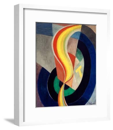 Helix, 1923-Robert Delaunay-Framed Giclee Print