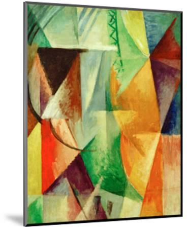 A Window, Study for 'The Three Windows', 1912/13-Robert Delaunay-Mounted Giclee Print