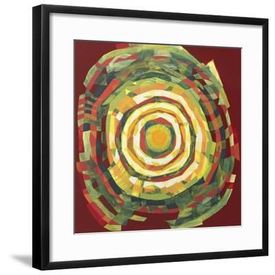 Target II-Nino Mustica-Framed Art Print