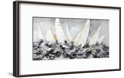 In Alto Mare-Luigi Florio-Framed Art Print
