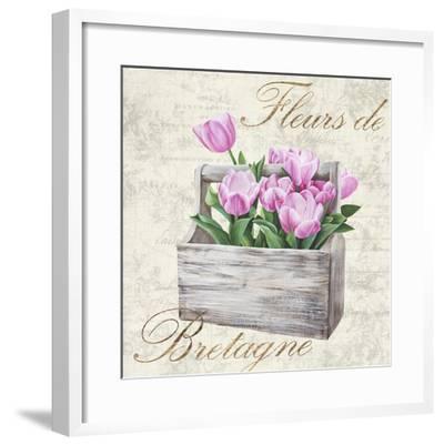 Fleurs de Bretagne-Remy Dellal-Framed Art Print