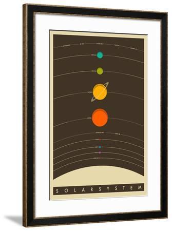 The Solar System--Framed Poster
