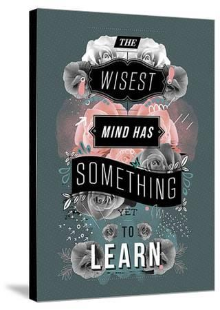 A Beautiful Mind-Kavan & Company-Stretched Canvas Print