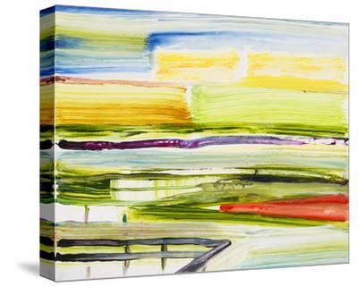 Deck View-Joan Davis-Stretched Canvas Print