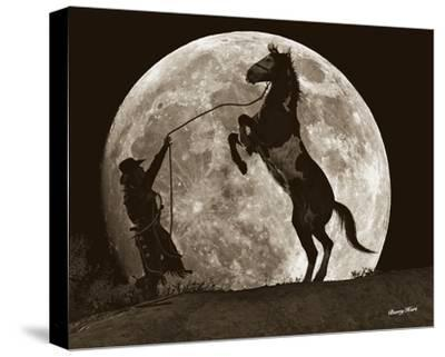 Moon Dance-Barry Hart-Stretched Canvas Print