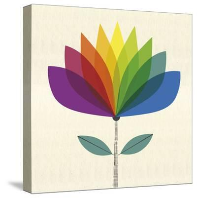 Fleur Chroma II-Sophie Ledesma-Stretched Canvas Print