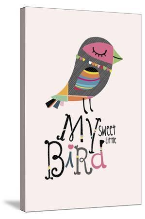 My Sweet Little Bird-Sophie Ledesma-Stretched Canvas Print