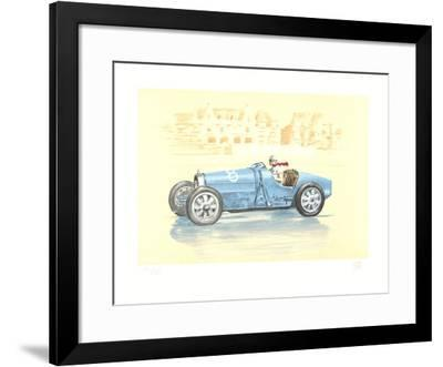 Bugatti-Helle Nice Collectable Print by Xavier La Victoire | Art com