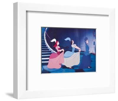 Walt Disney's Cinderella: The Wicked Stepmother, Anastasia and Drisella--Framed Art Print