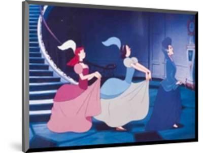 Walt Disney's Cinderella: The Wicked Stepmother, Anastasia and Drisella--Mounted Art Print