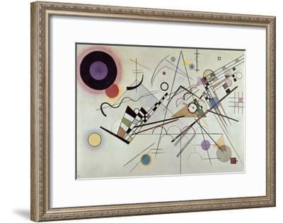 Composition no.8, 1923-Wassily Kandinsky-Framed Art Print