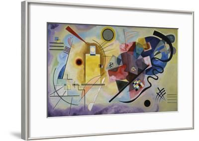 Yellow, Red, and Blue, 1925-Wassily Kandinsky-Framed Art Print
