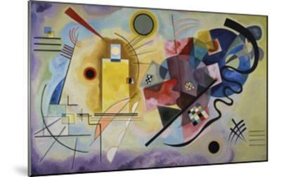 Yellow, Red, and Blue, 1925-Wassily Kandinsky-Mounted Art Print