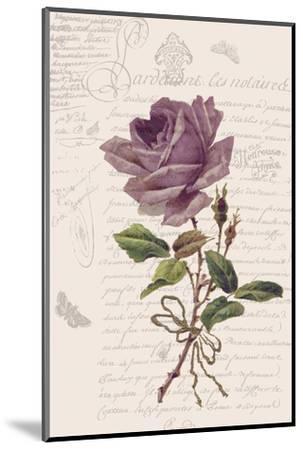 Vintage Flower I-Stephanie Monahan-Mounted Art Print