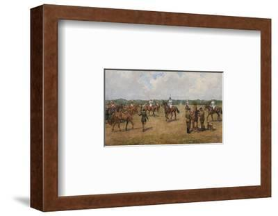 The Welsh Guard's Polo Team-Lionel Edwards-Framed Premium Giclee Print