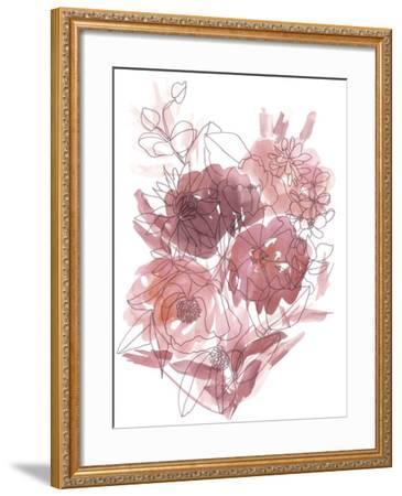 Flower Burst I-Katrien Soeffers-Framed Giclee Print