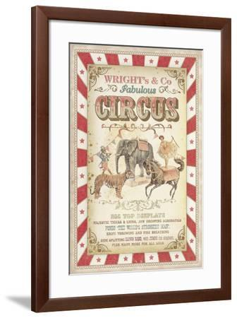 Wright's Fabulous Circus-The Vintage Collection?-Framed Giclee Print