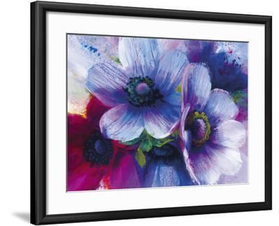 Floral Intensity III-Nick Vivian-Framed Giclee Print