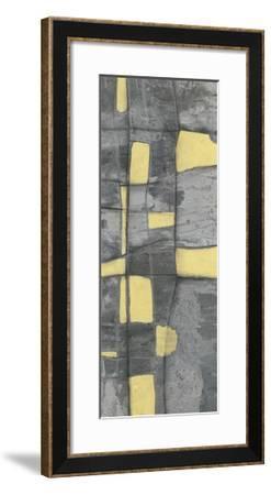 Lemon on Grey I-Jennifer Goldberger-Framed Limited Edition