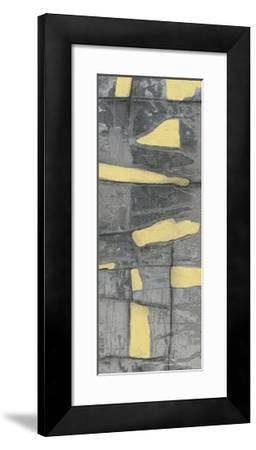 Lemon on Grey III-Jennifer Goldberger-Framed Limited Edition