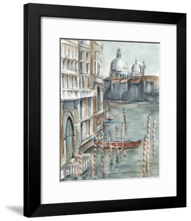 Venetian Watercolor Study I-Ethan Harper-Framed Limited Edition