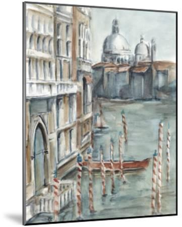 Venetian Watercolor Study I-Ethan Harper-Mounted Limited Edition