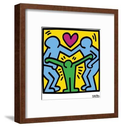 Pop Shop-Keith Haring-Framed Art Print