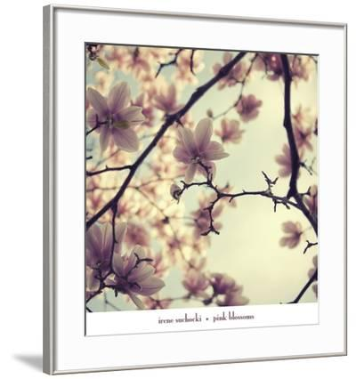 Pink Blossoms-Irene Suchocki-Framed Art Print