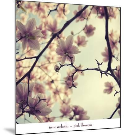 Pink Blossoms-Irene Suchocki-Mounted Art Print