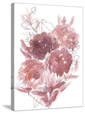 Flower Burst I-Katrien Soeffers-Stretched Canvas Print