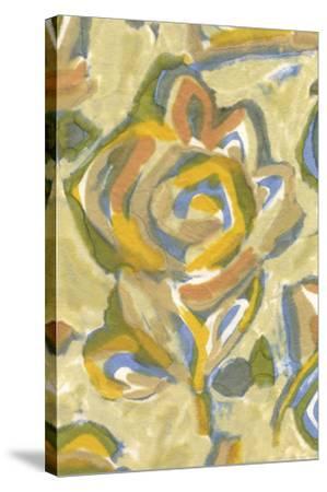 Beach Flower II-Sandra Jacobs-Stretched Canvas Print