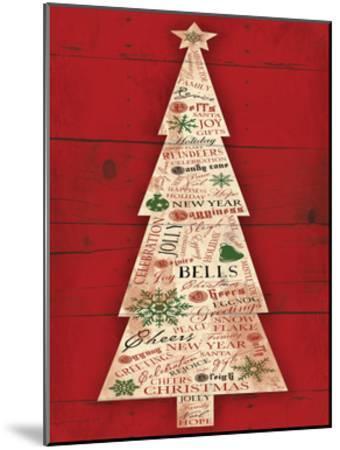 Christmas Tree-Jace Grey-Mounted Art Print
