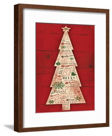 Christmas Tree-Jace Grey-Framed Art Print