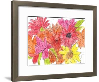 Prelude To Spring-Beverly Dyer-Framed Art Print