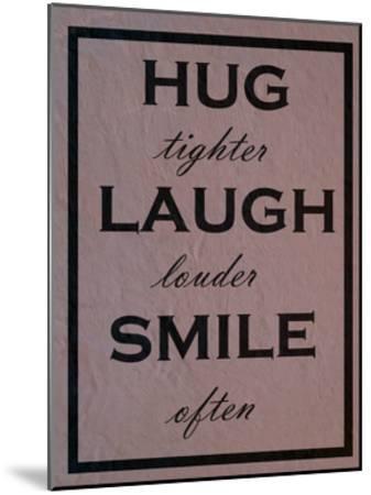 Hug-Sheldon Lewis-Mounted Art Print