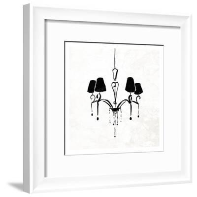 Chandelier II-OnRei-Framed Art Print